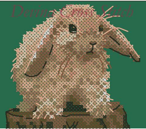 Кролик - Схемы для вышивки